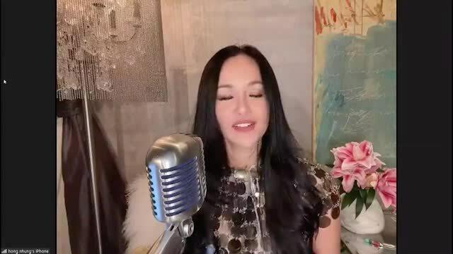 Hồng Nhung hát gây quỹ chống dịch
