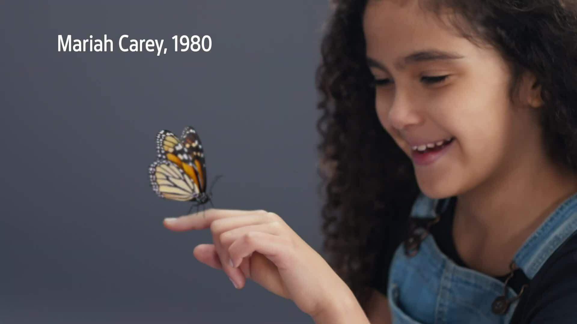 Con gái Mariah Carey lần đầu làm mẫu