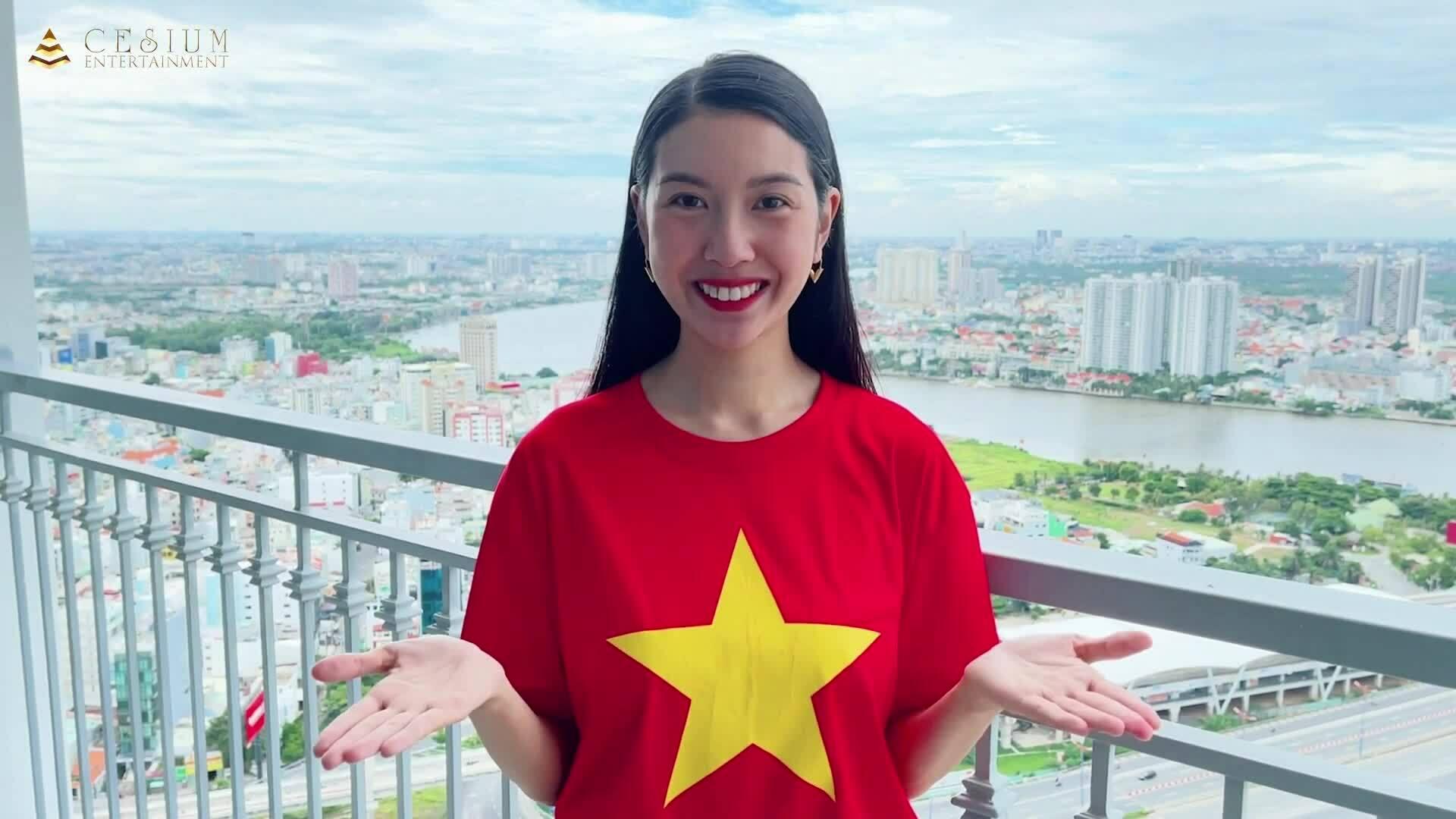 Thúy Vân tự quay MV tại nhà thời giãn cách