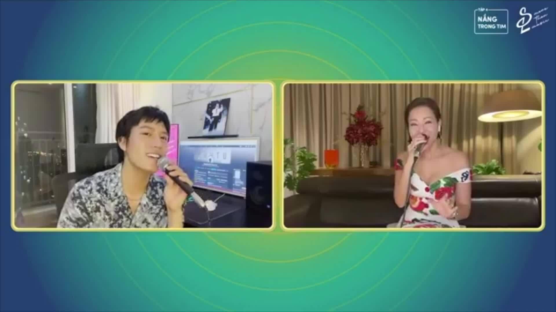 Thu Minh, Hoàng Bách hát gây quỹ chống dịch