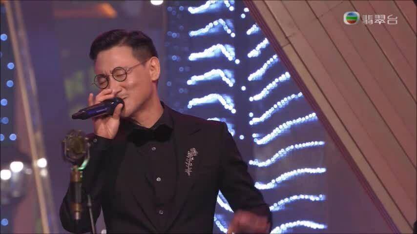 Trương Học Hữu hát tại Hoa hậu Hong Kong 2021