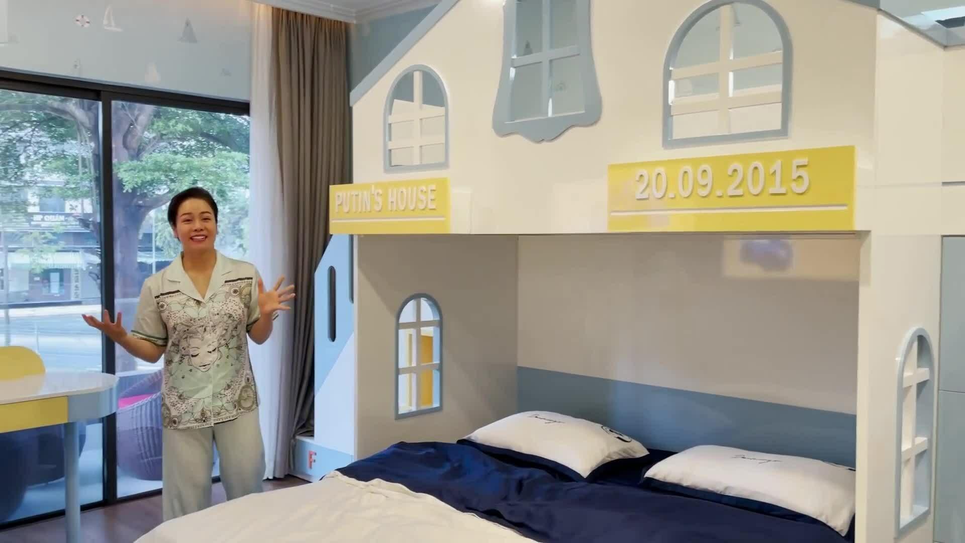 Nhật Kim Anh khoe phòng ngủ tặng con trai