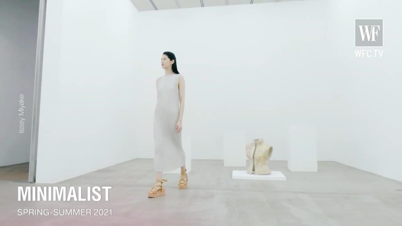 Phong cách tối giản trên sàn diễn Xuân Hè 2021