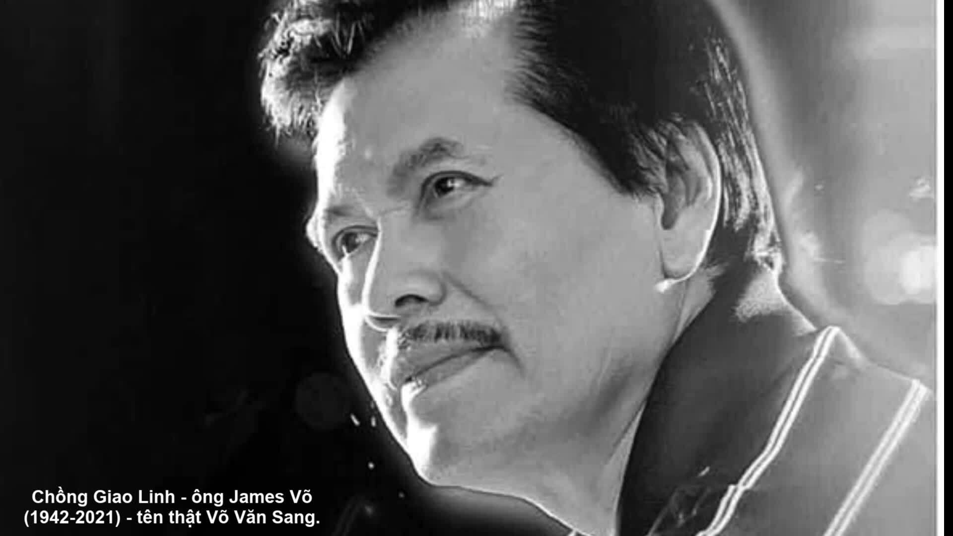 Giao Linh hát tiễn biệt chồng