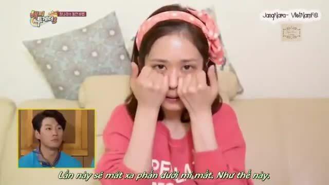 Jang Nara stress vì được khen trẻ