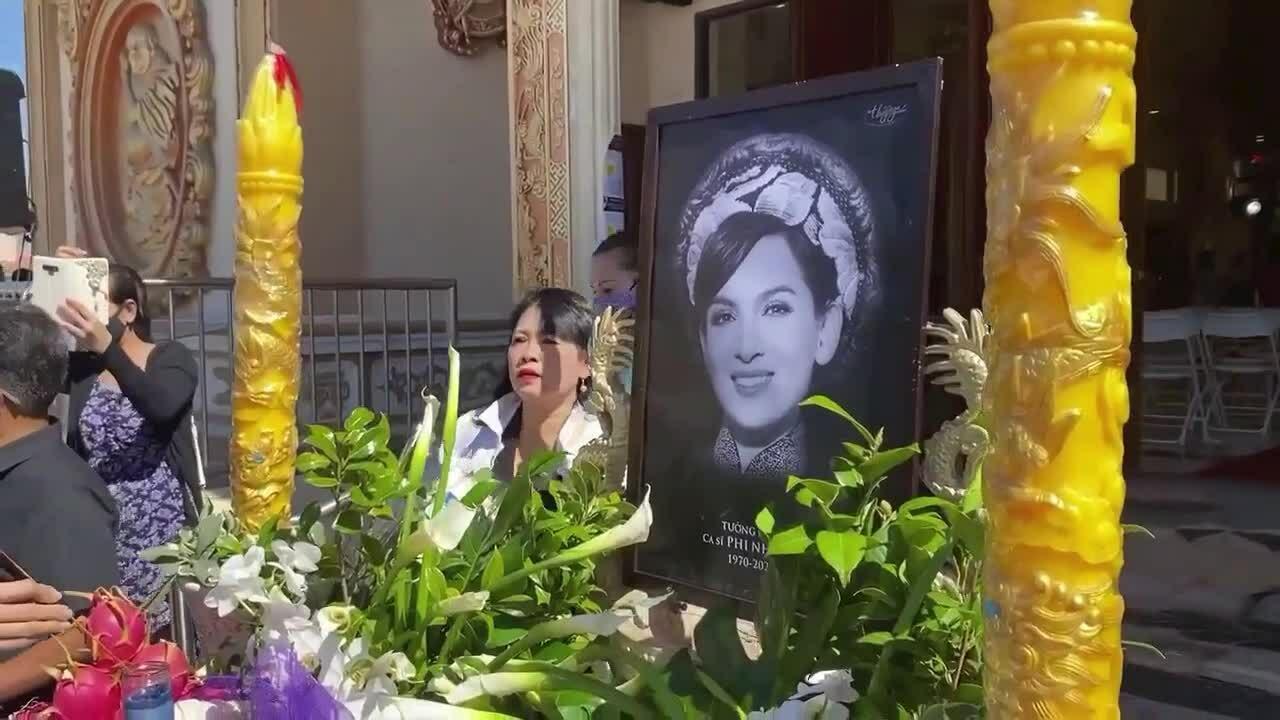 Tang lễ Phi Nhung ở Mỹ