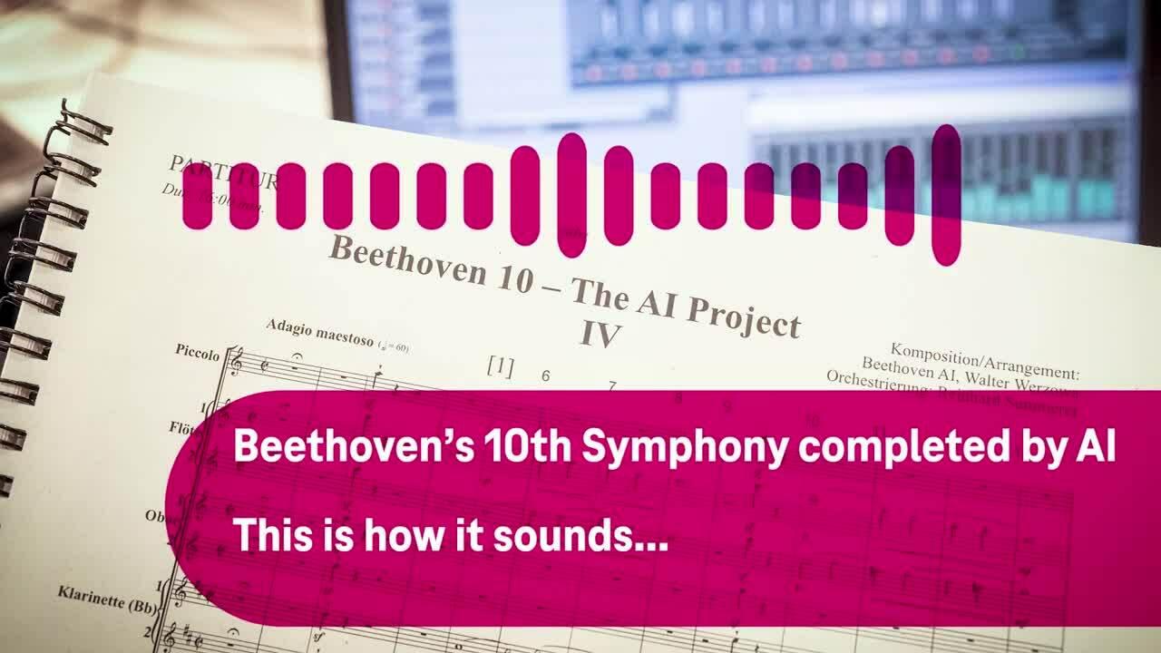 Trí tuệ nhân tạo viết giao hưởng dang dở của Beethoven