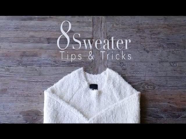 8 mẹo hay ho với áo len của Chriselle