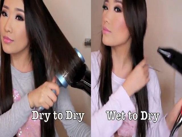 Ann-AeRee hướng dẫn sấy tóc 2 cách