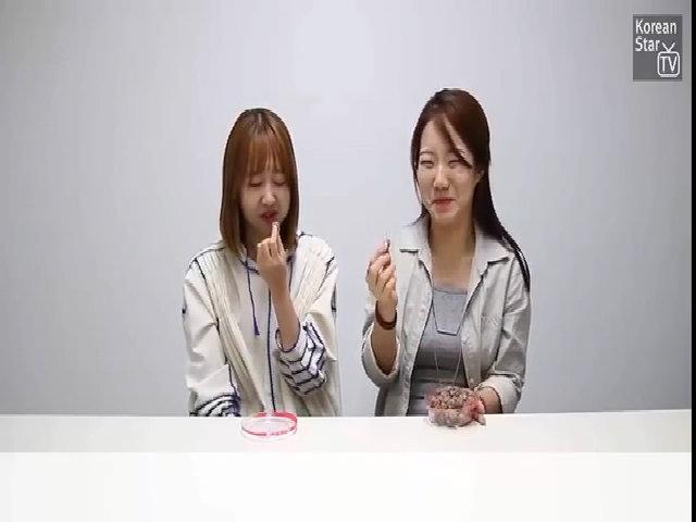 Phản ứng của người Hàn Quốc khi thử món ăn vặt của Việt Nam
