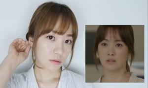 Trang điểm trong veo giống Song Hye Kyo trong 'Hậu duệ mặt trời'