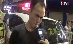 Tài xế say rượu cố nín thở để lừa cảnh sát