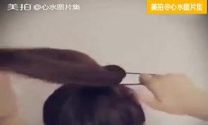 Cách búi tóc chắc, không lo tuột dù vận động mạnh