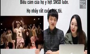Phản ứng của người Hàn Quốc khi xem nhóm St. 319 nhảy theo SNSD