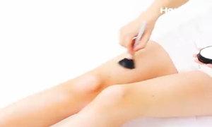 Cách đánh khối đơn giản giúp chân thêm thon nuột