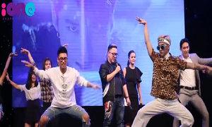 Sơn Tùng và em trai 'tăng động' trên sân khấu cùng fan