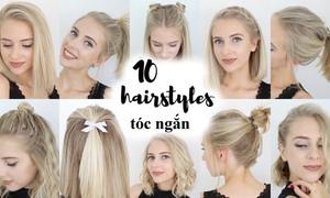 10 kiểu tóc xì tin cho cô nàng tóc ngắn