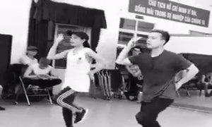 Chi Pu chăm chỉ tập nhảy để khoe vũ đạo với Hyun Ah