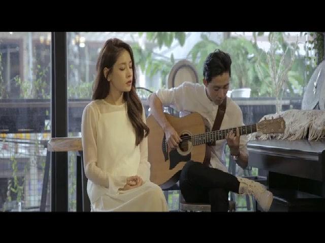 Chi Pu khoe giọng hát ngày càng tiến bộ