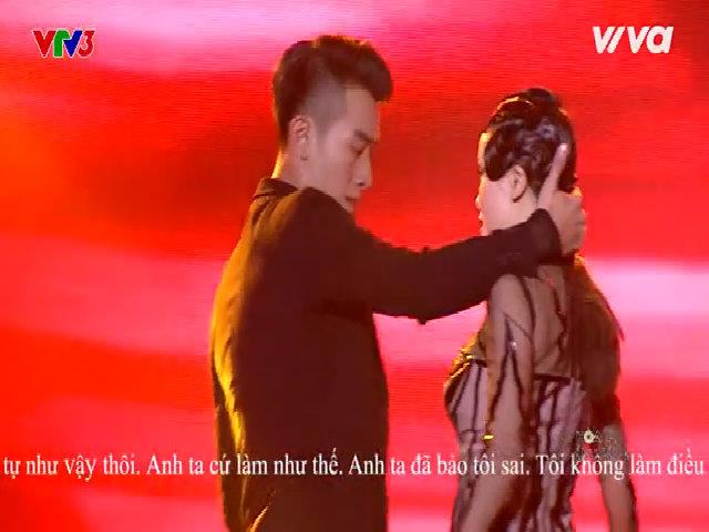 Phần thi mạo hiểm của Yến Trang