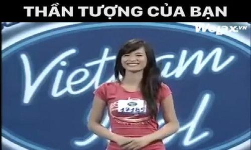 Đông Nhi bị đánh trượt khi đi thi 'Vietnam idol'