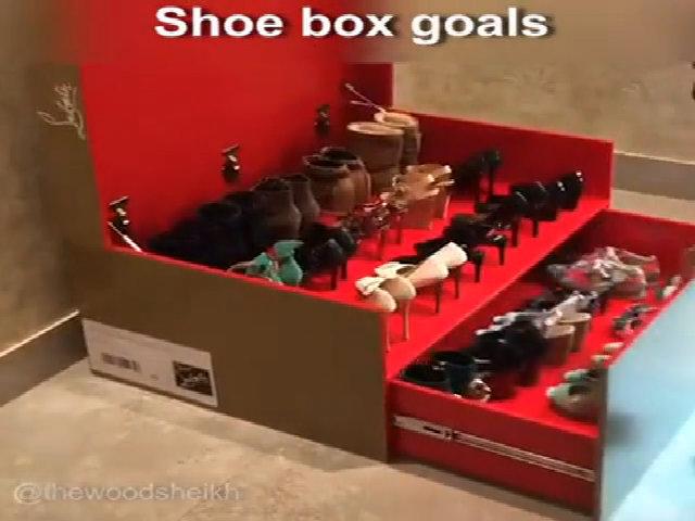 Tủ đựng giày 'kỳ diệu' ai cũng muốn có 1 cái