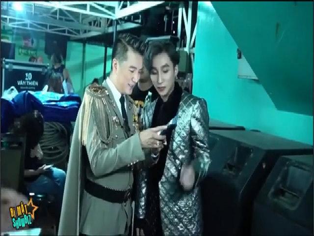 Sơn Tùng - Đàm Vĩnh Hưng add Facebook nhau