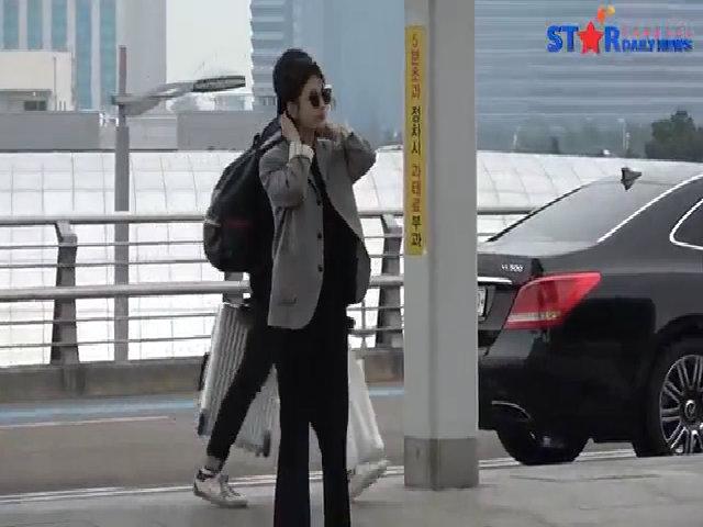 Suzy xuất hiện với style 'oppa', đẹp trai bất ngờ với tóc ngắn