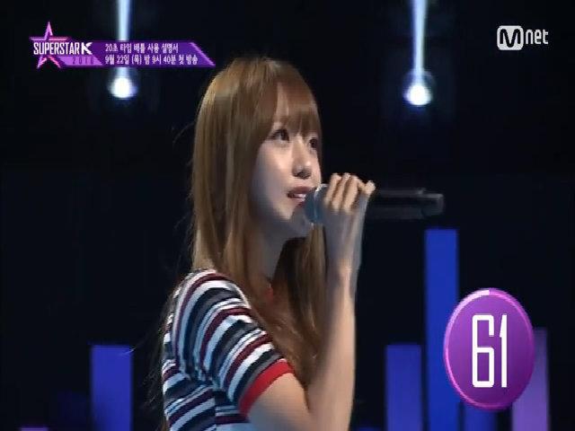 So Hee hát trong chương trình Super Star K 2016