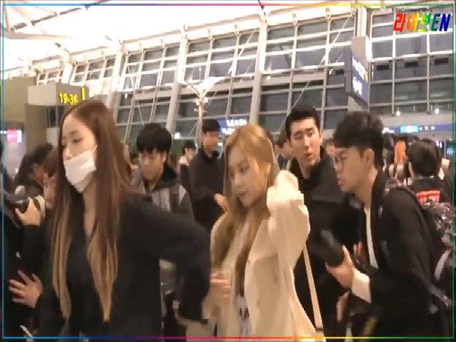 SinB bảo vệ Um Ji trước đám đông
