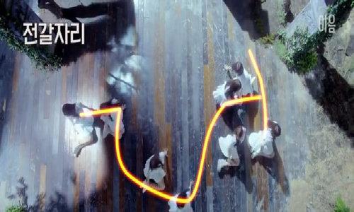 Loạt vũ đạo Kpop khiến fan trầm trồ khi nhìn từ trên cao