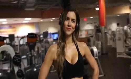 Anllela Sagra trở thành mỹ nữ phòng gym triệu người mê