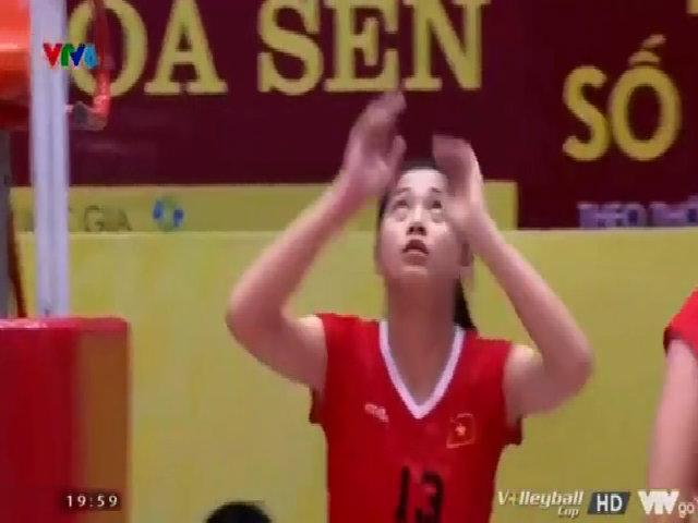 Hot girl bóng chuyền 10x cao 1,76m xứng danh 'con nhà người ta'