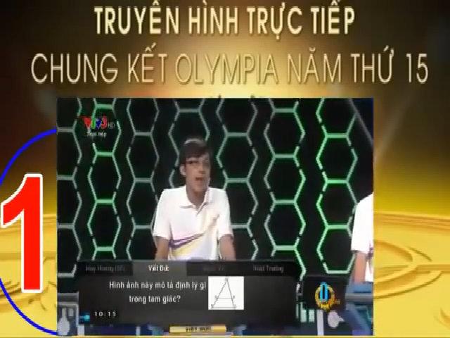 Việt Đức tại vòng thi Khởi Động trong trận chung kết