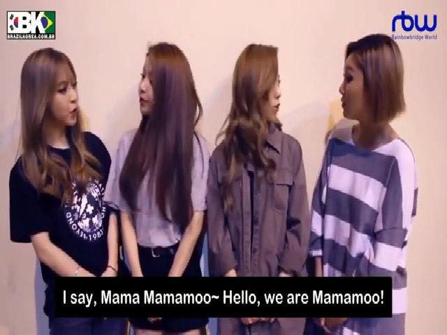 Kiểu chào acapella của Mamamoo