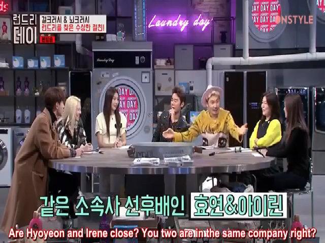 """Hyo Yeon: """"Em nghĩ là Irene sẽ chẳng chịu ra khỏi phòng mình đầu""""."""