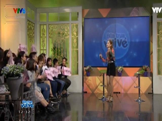 Chi Pu hát live trên truyền hình bị chê hụt hơi