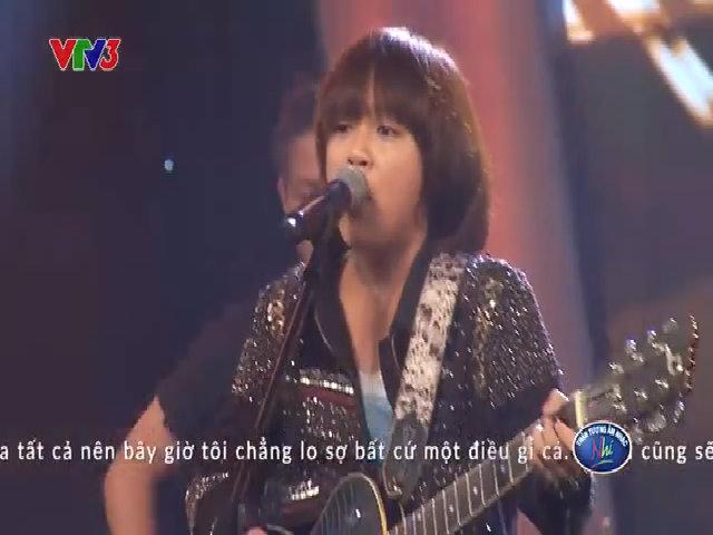 Thiên Khôi 'đốt cháy' sân khấu Vietnam Idol Kids