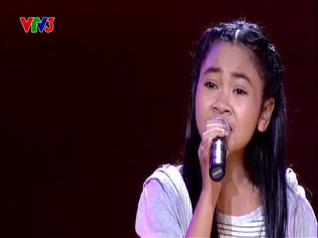 Thiên Vũ tại 'Giọng hát Việt Nhí' 3 năm trước