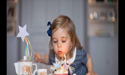 Công chúa Leonore trong ngày sinh nhật 3 tuổi