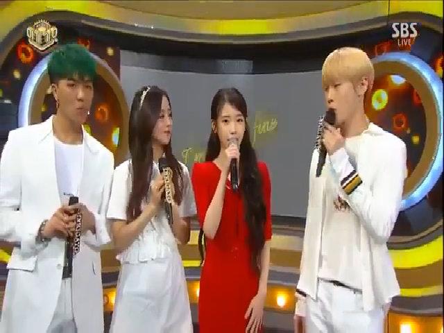 Ji Soo đọ sắc cùng IU