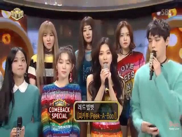 Ji Soo đọ sắc cùng Red Velvet