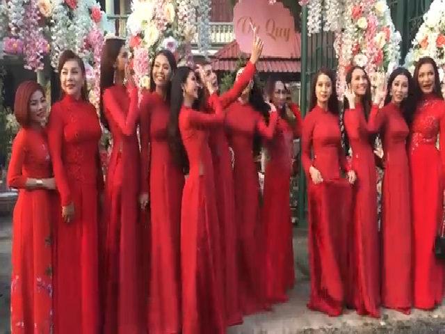 15 phù dâu chuyển giới xinh đẹp nổi bật tại đám cưới Lâm Khánh Chi