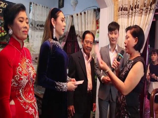 Lâm Khánh Chi được tặng quà trước ngày về nhà chồng