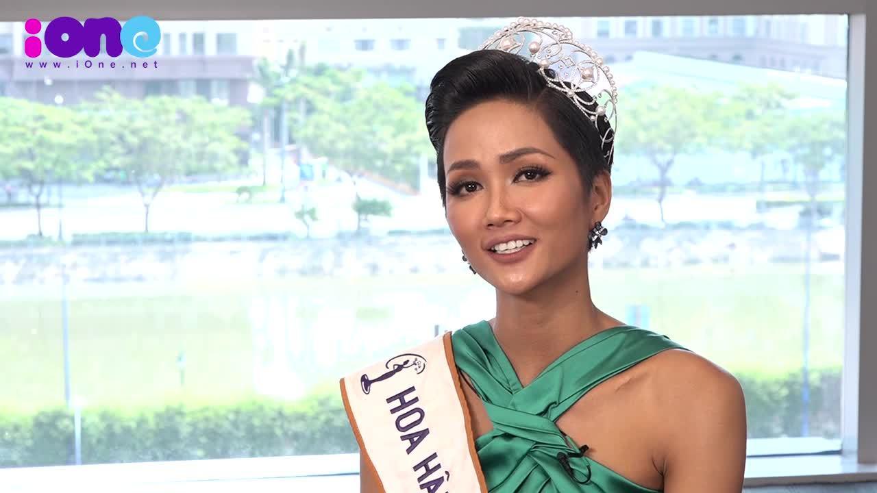 Phỏng vấn nhanh hoa hậu H'Hen Niê