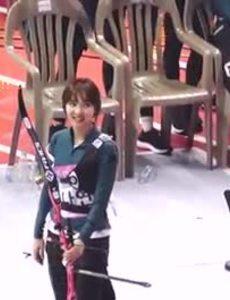 Fancam Na Yeon thi bắn cung