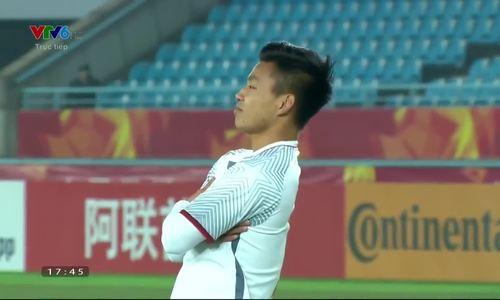 Hot boy U23 Việt Nam gây sốt với cách ăn mừng bàn thắng đáng yêu hết cỡ