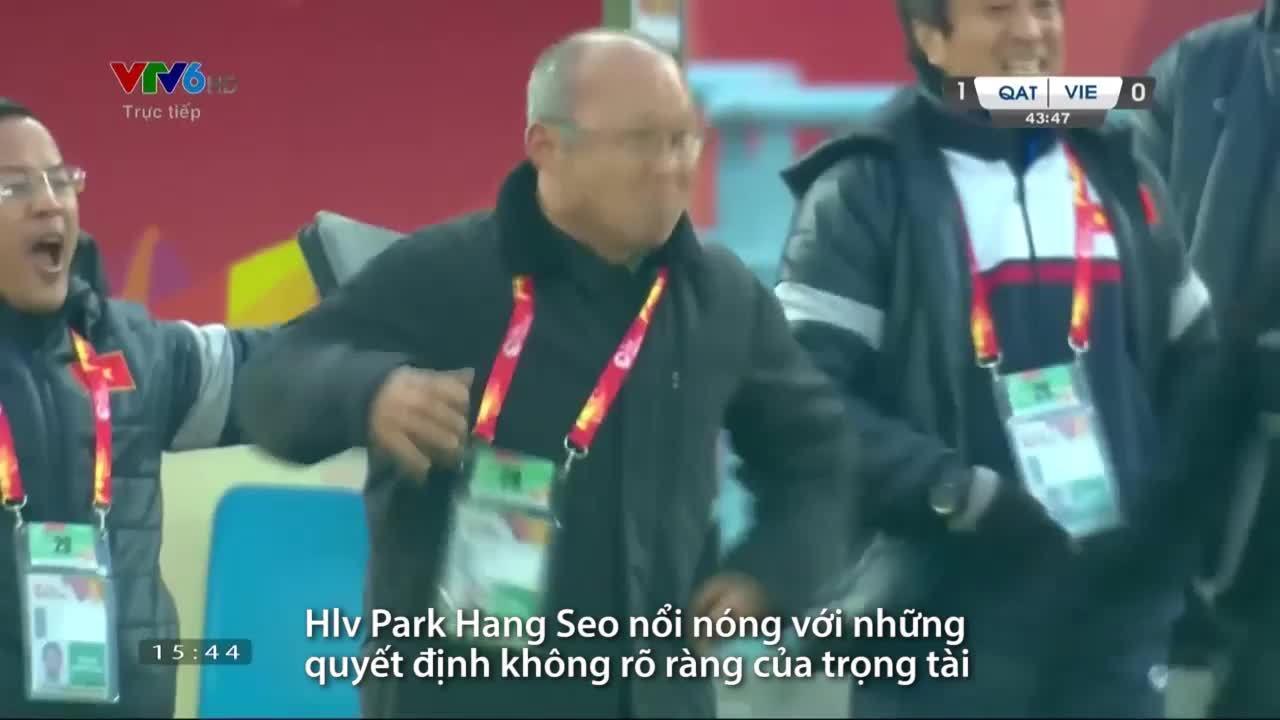 'Bố già' của U23 Việt Nam và loạt biểu cảm 'đáng yêu không đỡ kịp'
