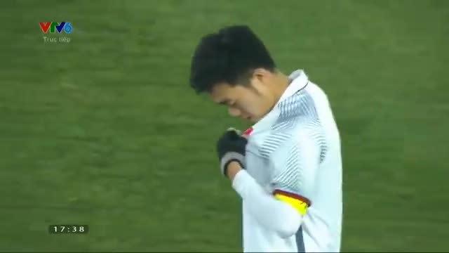 Chỉ một hành động nhỏ, Lương Xuân Trường xứng đáng là thủ lĩnh của U23 Việt Nam