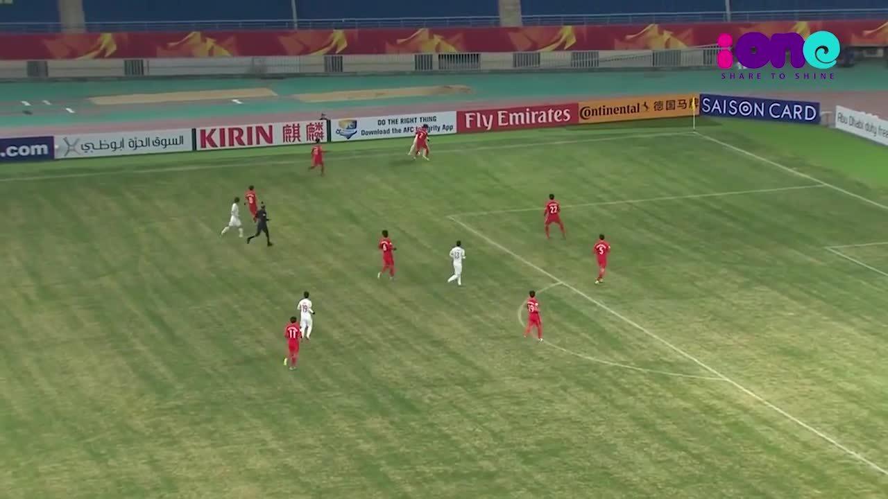 Xem lại những bàn thắng của các chàng trai U23 Việt Nam tại AFC Cup 2018